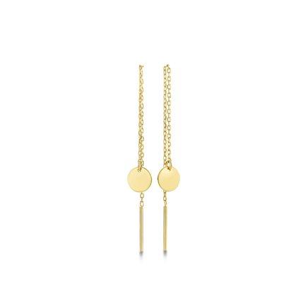 Isabel Bernard Le Marais Jeanne 14 karat gold drop earrings