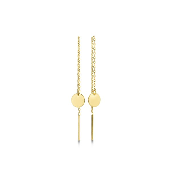 Isabel Bernard Le Marais Jeanne 14 karat gold drop earrings