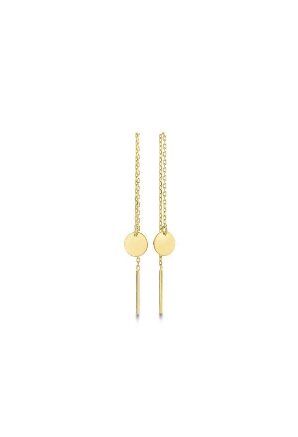 Isabel Bernard Le Marais Jeanne 14 carat gold earrings