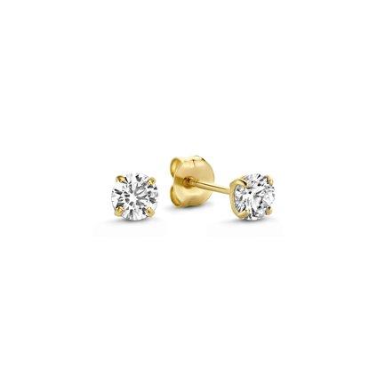 Isabel Bernard Le Marais Lourdes clous d'oreilles en or 14 carats