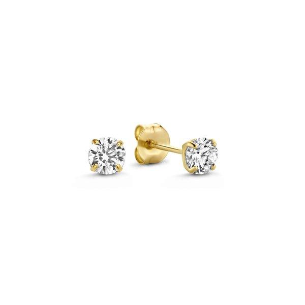 Isabel Bernard Le Marais Lourdes 14 karat gold ear studs