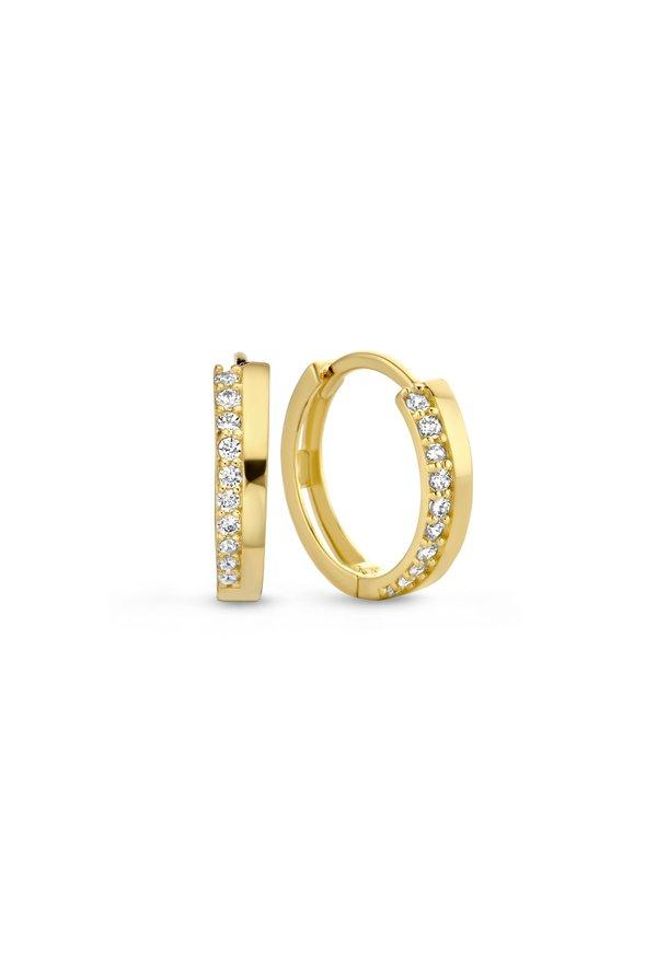 Isabel Bernard Créoles Le Marais Louna en or 14 carats 13mm