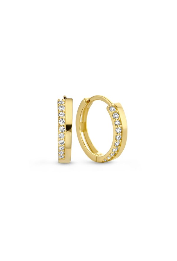 Isabel Bernard Le Marais Louna 14 carat gold creoles 13mm