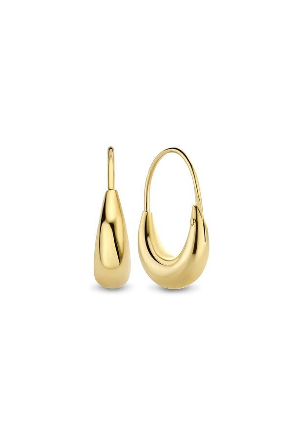 Isabel Bernard Orecchini a cerchio in oro 14 carati Le Marais Solene