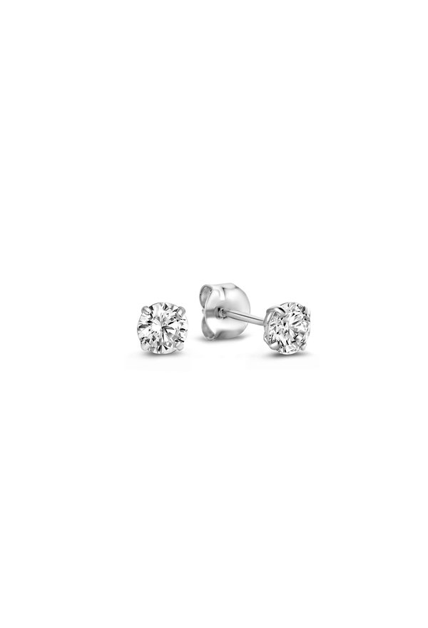 Isabel Bernard Saint Germain de L'Echaude 14 carat white gold ear studs