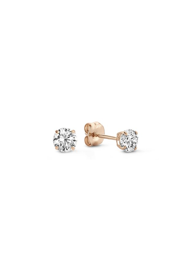 Isabel Bernard La Concorde Célesse 14 carat rose gold ear studs