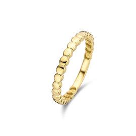 Isabel Bernard Le Marais Zélie 14 carat gold ring rounds