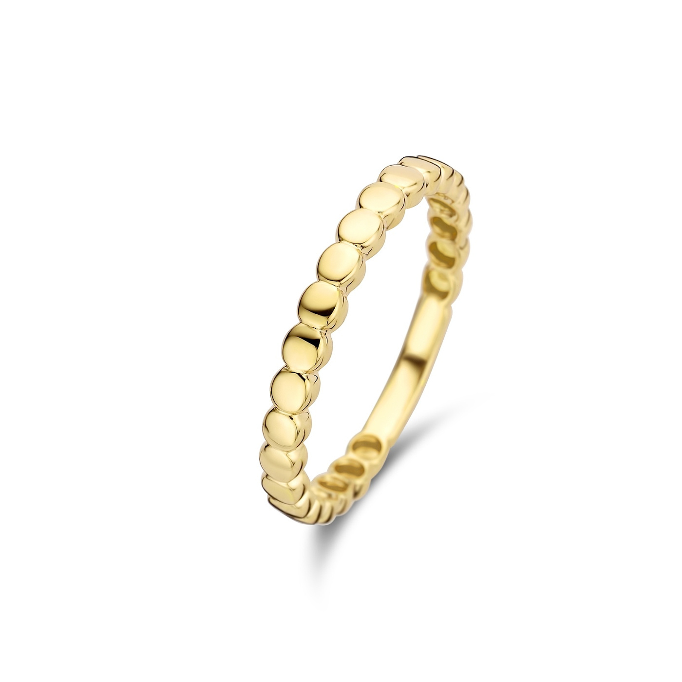 Isabel Bernard Le Marais Zélie 14 karaat gouden ring rondjes