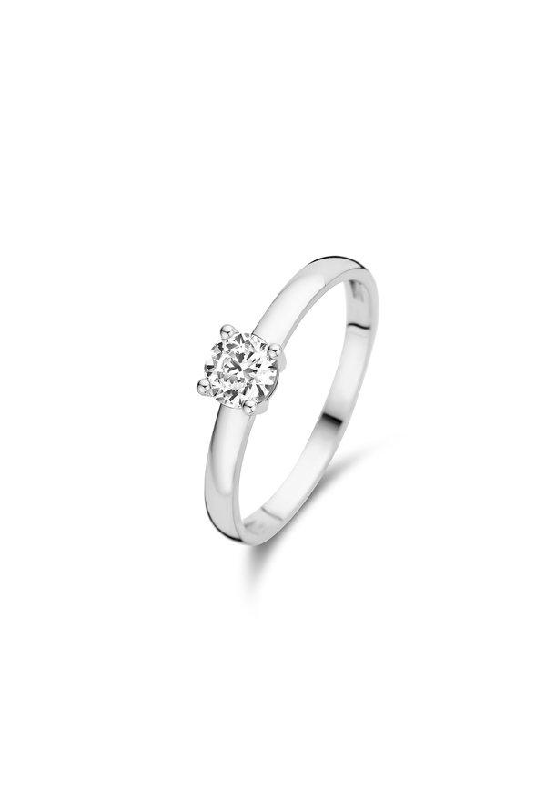 Isabel Bernard Saint Germain de Buci 14 carat white gold ring