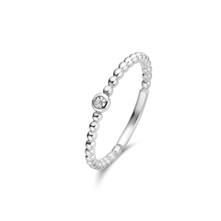 Isabel Bernard Saint Germain Clément 14 karat white gold ring