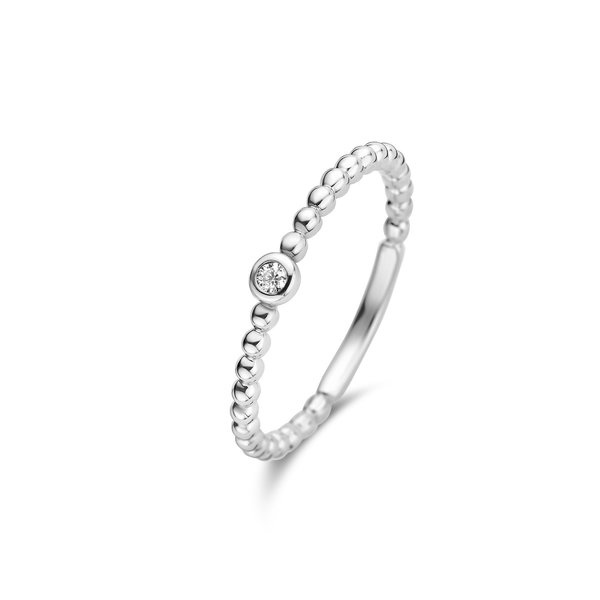 Isabel Bernard Saint Germain Clément bague en or blanc 14 carats