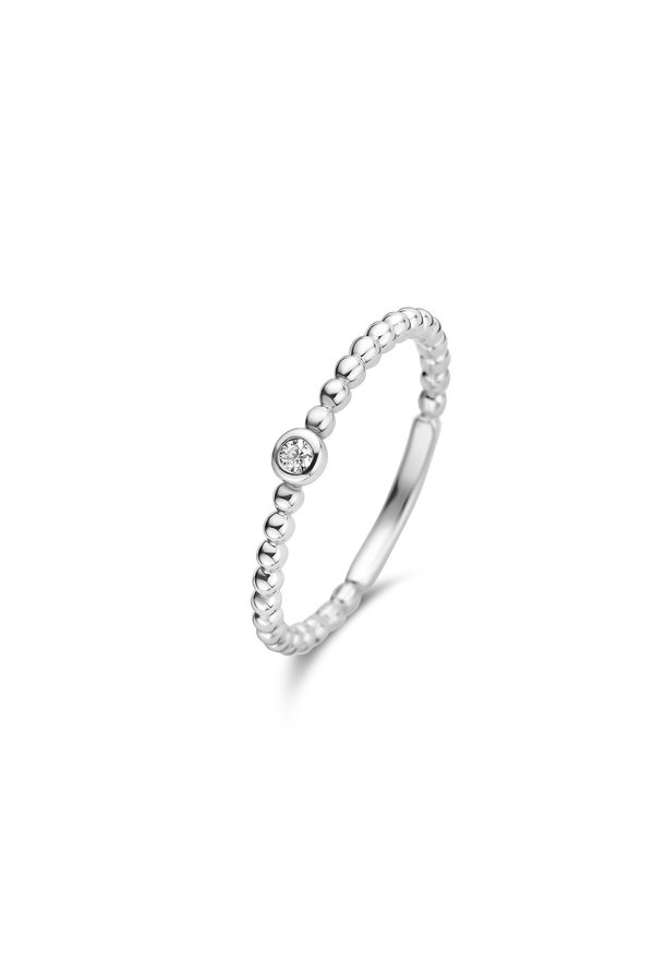 Isabel Bernard Saint Germain Clément 14 carat white gold ring