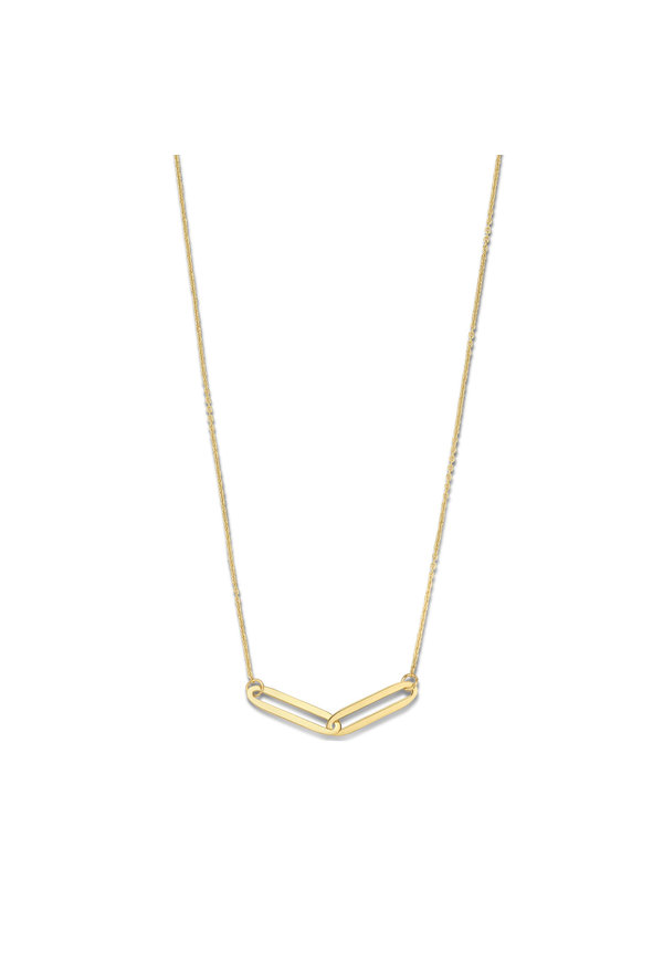 Isabel Bernard Aidee Léa 14 karat gold necklace