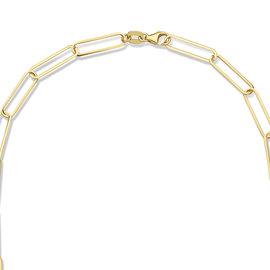 Isabel Bernard Aidee Louise 14 karat gold chain necklace