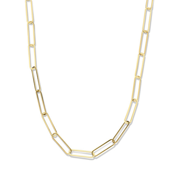 Isabel Bernard Aidee Louise 14 karat gold link chain