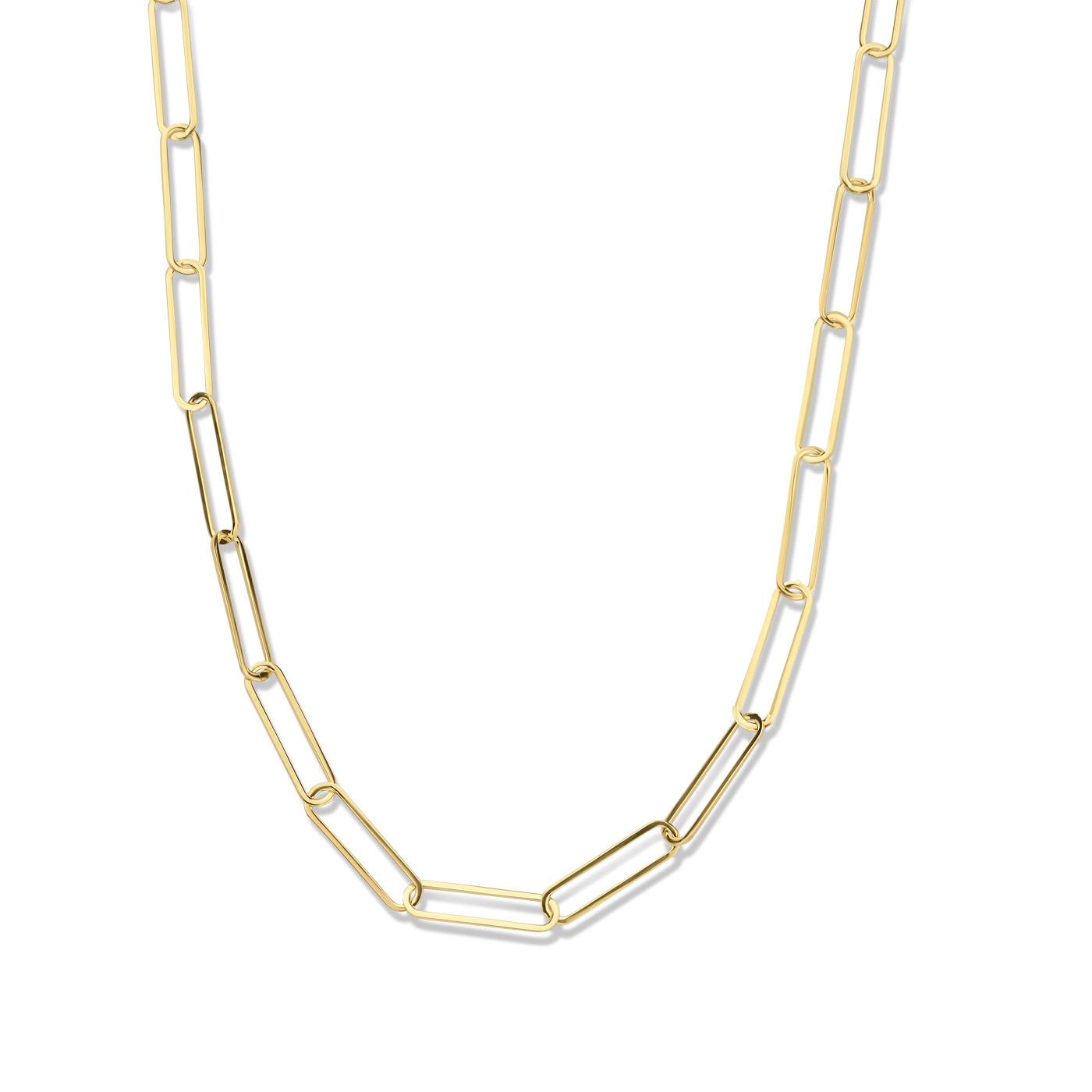 Isabel Bernard Aidee Louise 14 carat gold link chain