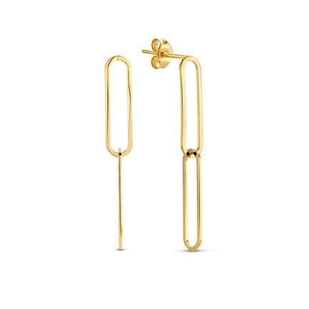 Isabel Bernard Aidee Ayla boucles d'oreilles pendantes en or 14 carats
