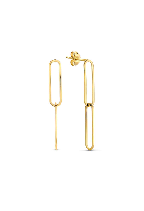 Isabel Bernard Aidee Ayla  14 carat gold drop earrings