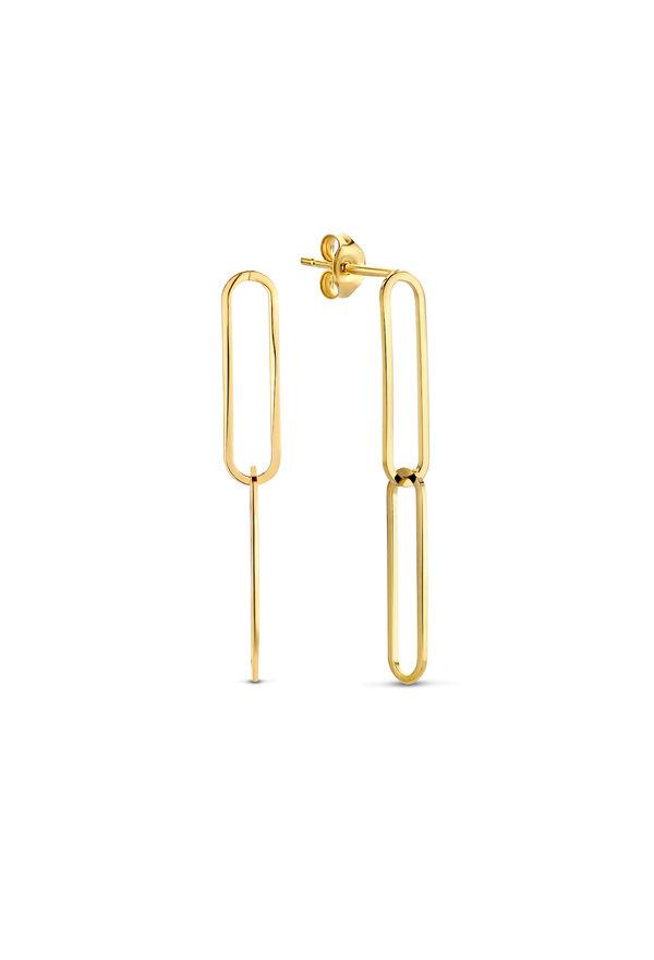 Isabel Bernard Aidee Ayla 14 karaat gouden oorbellen