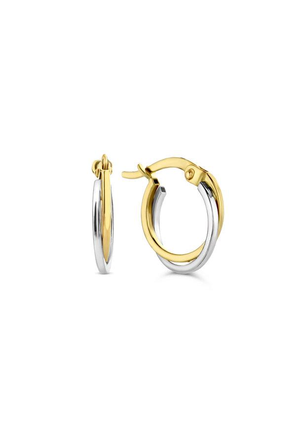 Isabel Bernard Le Marais Adame 14 karaat gouden oorbellen
