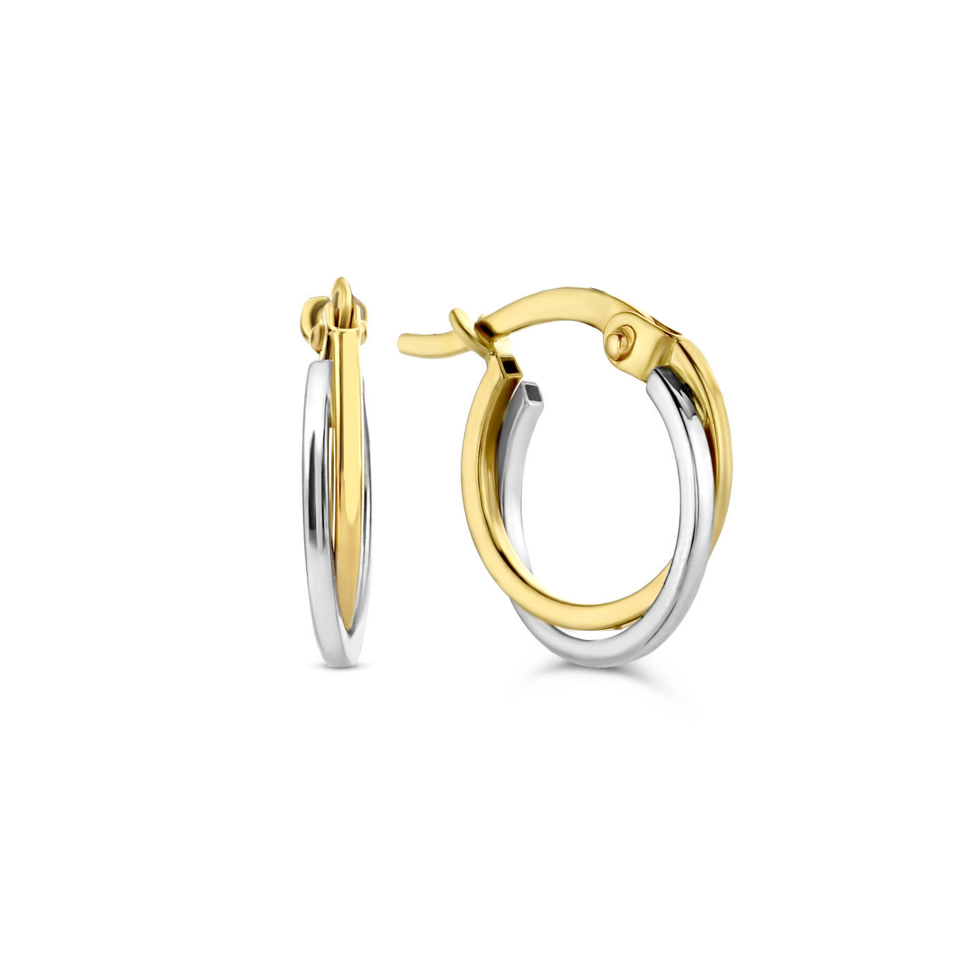 Isabel Bernard Le Marais Adame 14 karaat gouden creolen ringen