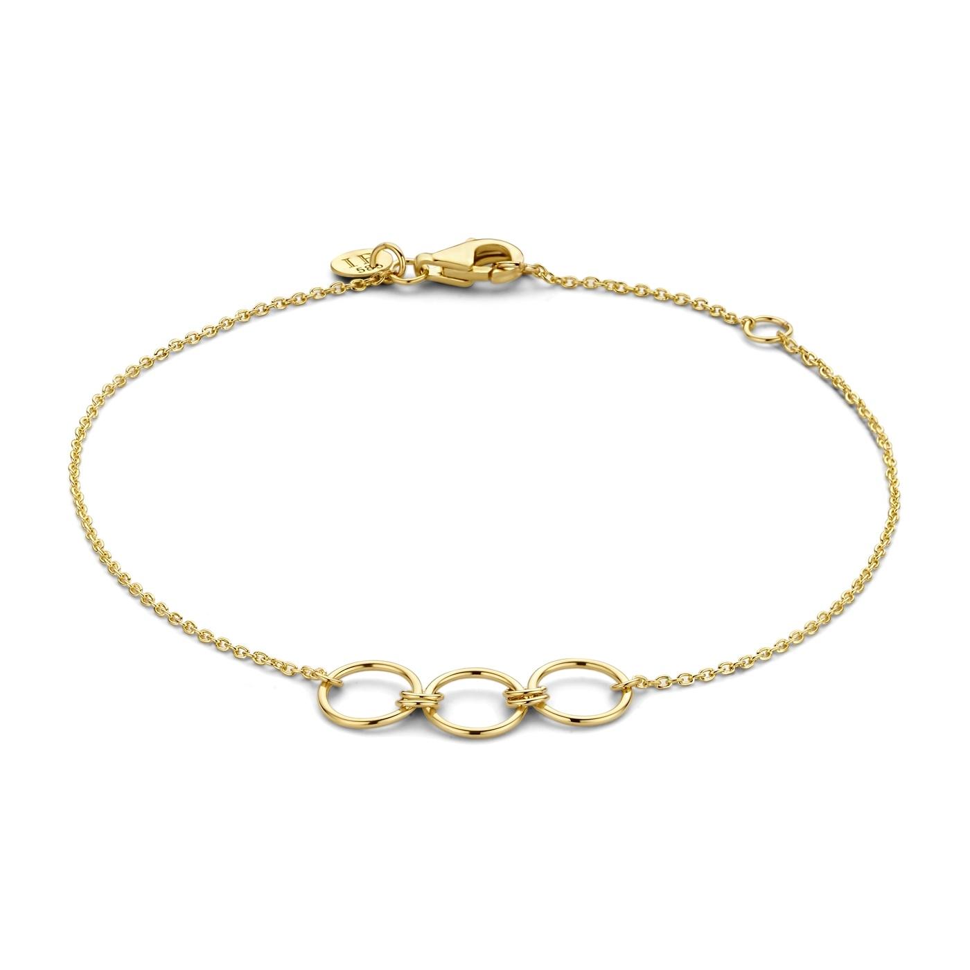 Isabel Bernard Belleville Anna 14 carat gold bracelet