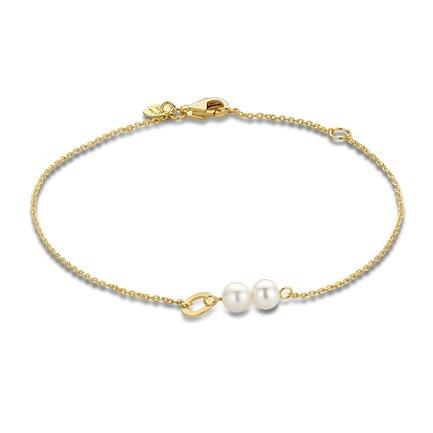 Isabel Bernard Belleville Luna 14 karaat gouden armband