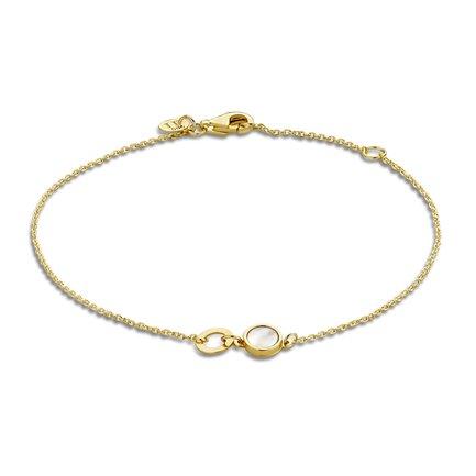 Isabel Bernard Belleville Luna bracciale in oro 14 carati