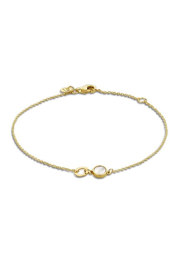 Isabel Bernard Belleville Sofia 14 karaat gouden armband