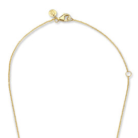Isabel Bernard Belleville Jade 14 carat gold necklace