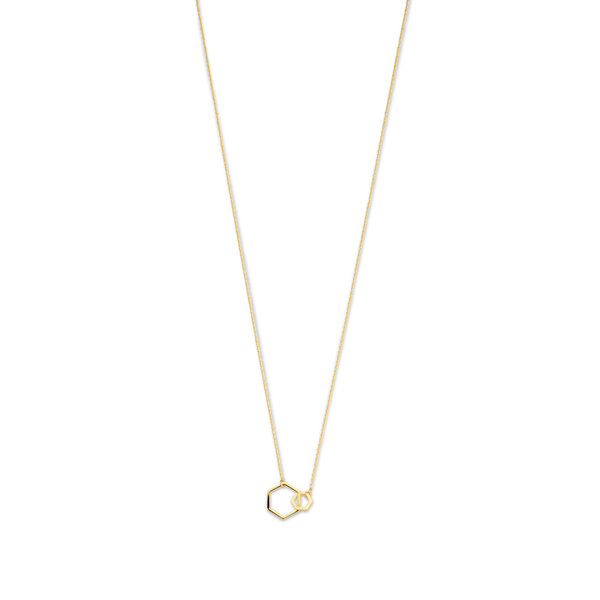 Isabel Bernard Belleville Elena 14 karat gold necklace