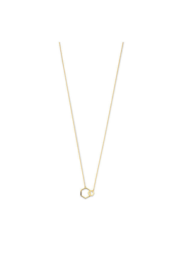 Isabel Bernard Belleville Elena 14 carat gold necklace
