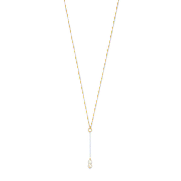 Isabel Bernard Belleville Luna 14 karat gold necklace