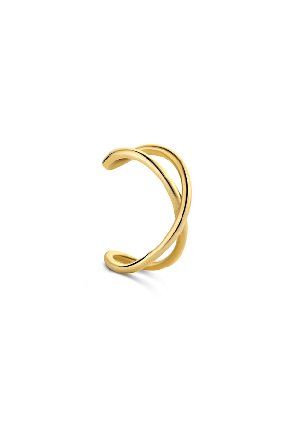 Isabel Bernard Le Marais Chéri 14 karat gold single ear cuff