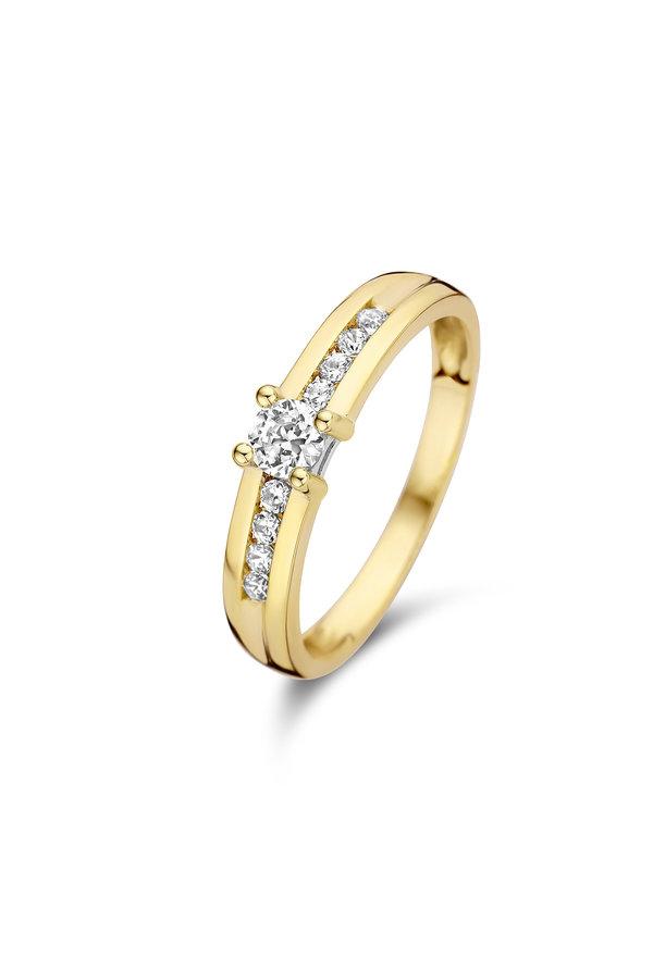 Isabel Bernard Le Marais Estée 14 carat gold ring
