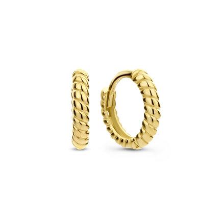 Isabel Bernard Le Marais Anne-Colette 14 karat gold hoop earrings