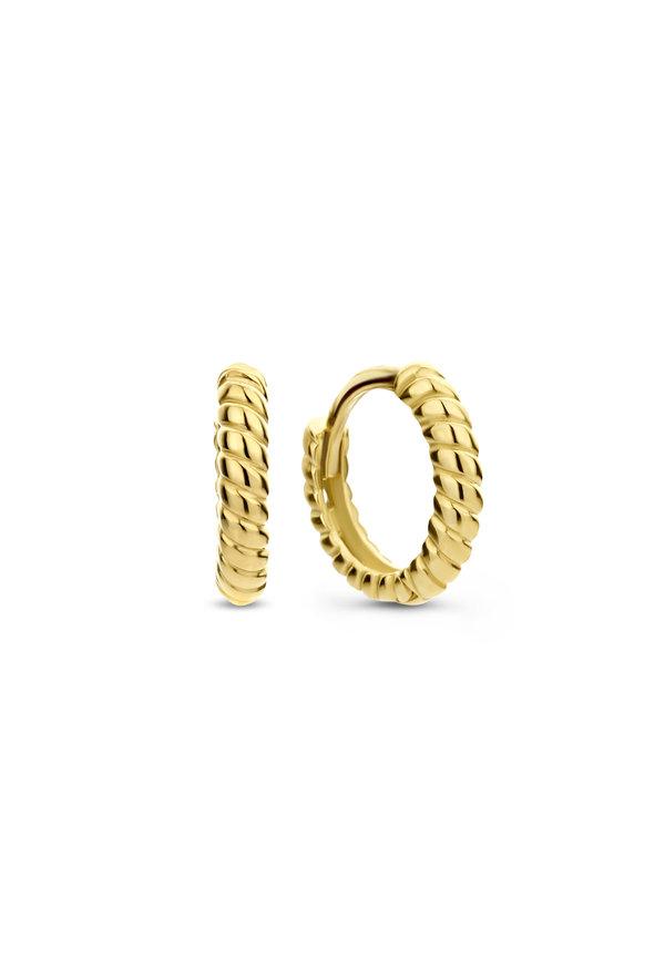 Isabel Bernard Le Marais Anne-Colette 14 carat gold earrings