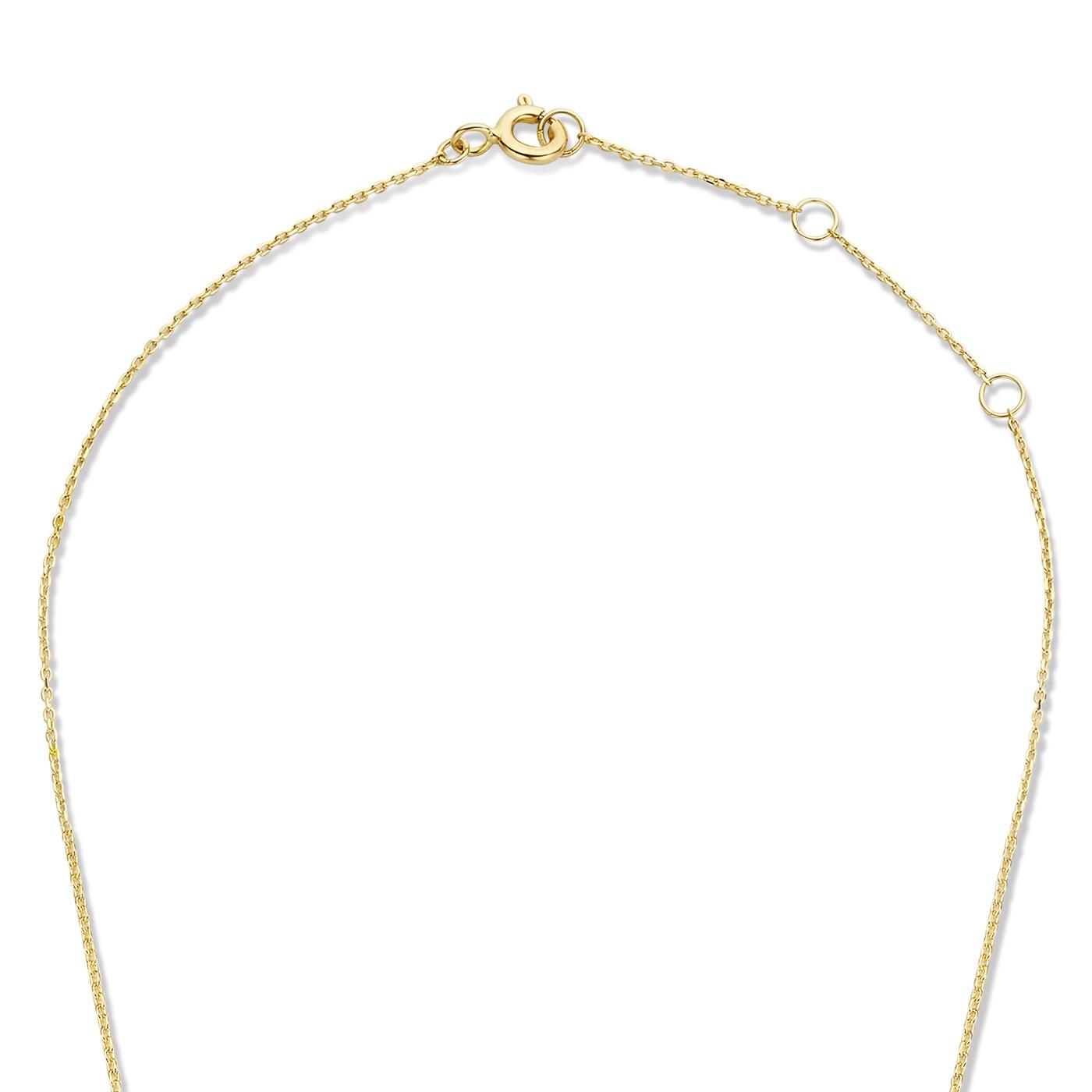 Isabel Bernard Le Marais Garance 585er Goldkette mit Zirkonia