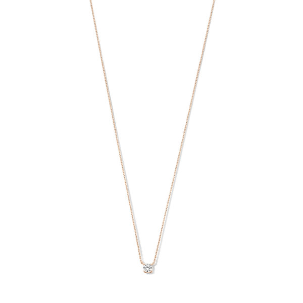 Isabel Bernard La Concorde Axelle 14 karat rose gold necklace