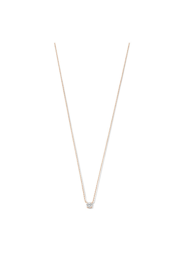 Isabel Bernard La Concorde Axelle 14 carat rose gold necklace