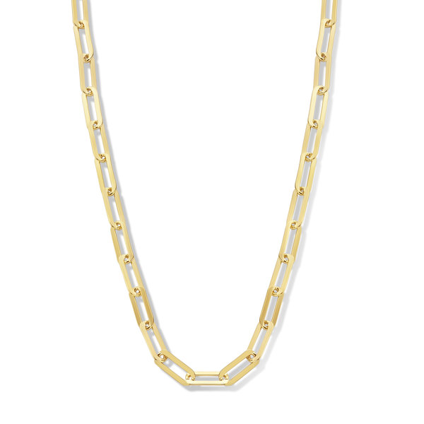 Isabel Bernard Aidee Idalie 14 karat gold necklace