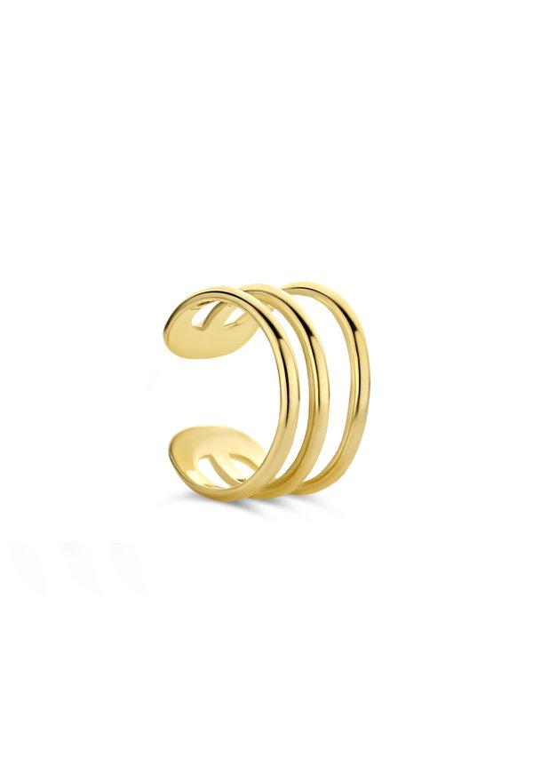 Isabel Bernard Le Marais Chéri 14 karat enskild guld ear cuff