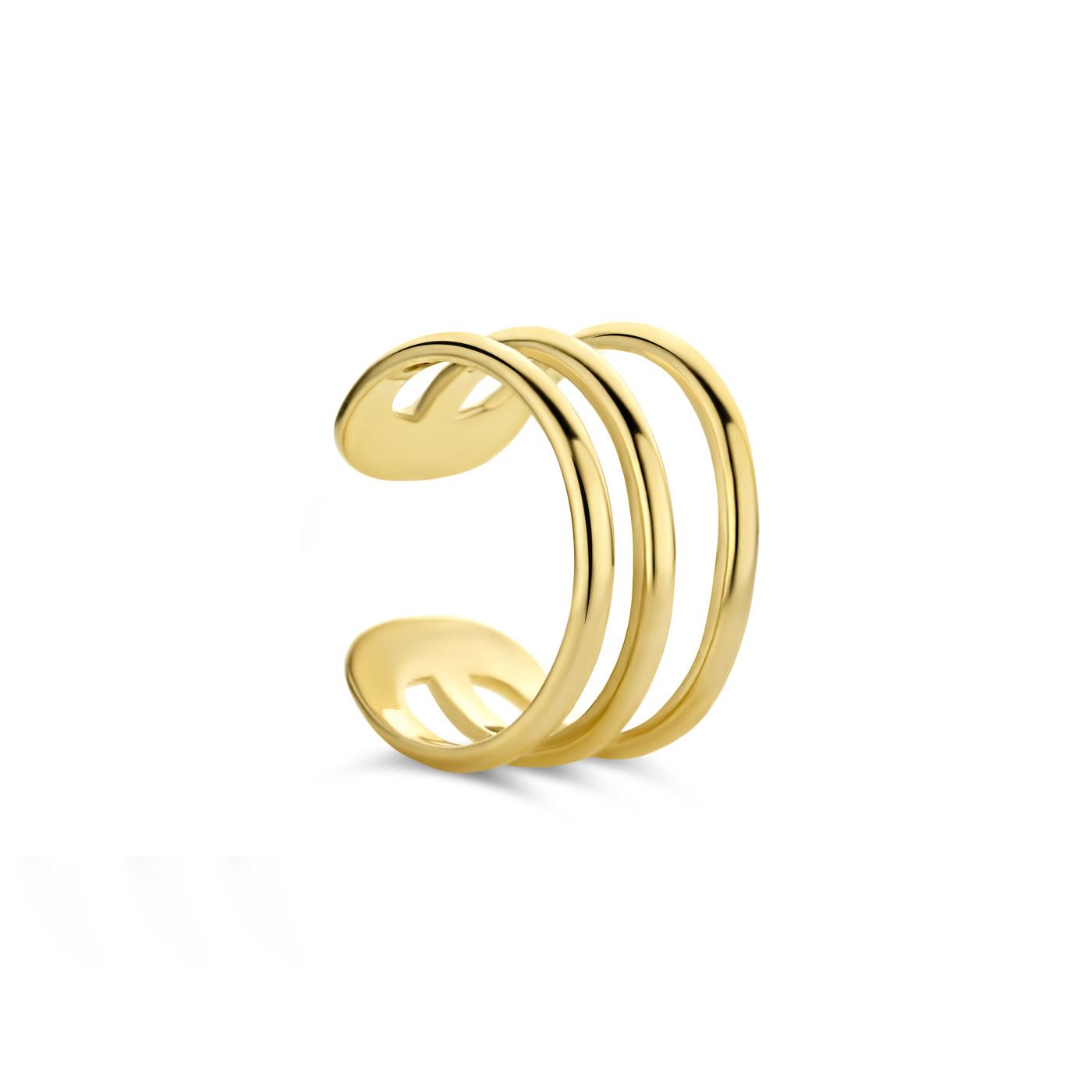 Isabel Bernard Ear cuff singolo in oro 14 carati Le Marais Chérie