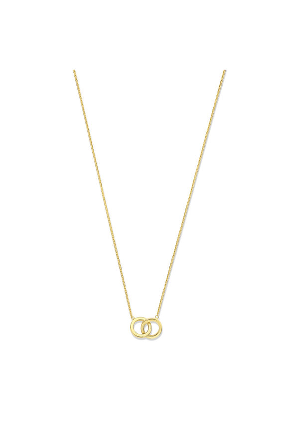 Isabel Bernard Le Marais Zoë 14 carat gold necklace