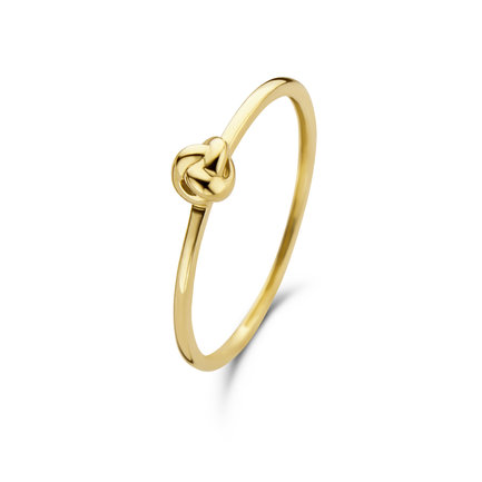 Isabel Bernard Asterope Knot anello in oro 14 carati