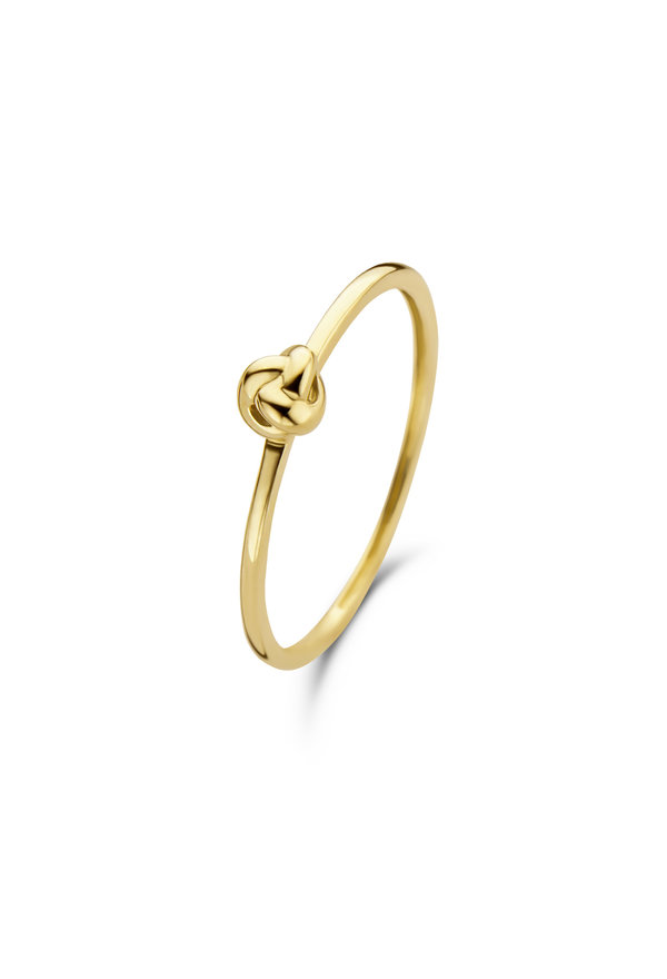 Isabel Bernard Anello in oro 14 carati Asterope knot ring
