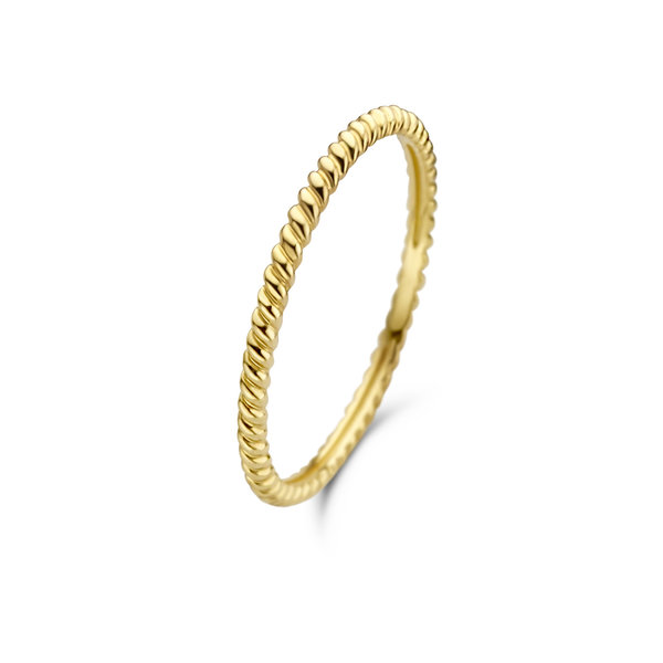 Isabel Bernard Asterope Twisted 14 karat gold ring