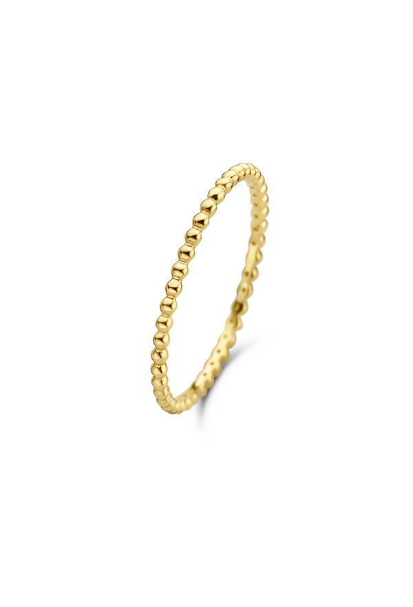 Isabel Bernard Asterope 14 carat gold dots ring