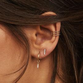 Isabel Bernard Le Marais Chéri 14 Karat Einzele Gold ear cuff