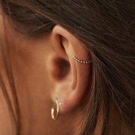 Isabel Bernard Le Marais Chéri 14 karaat gouden enkele  ear cuff